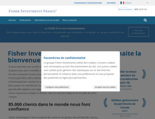 fisherinvestments.fr screenshot