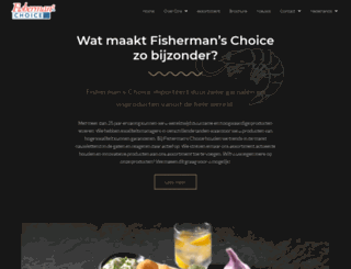 fishermanschoice.nl screenshot