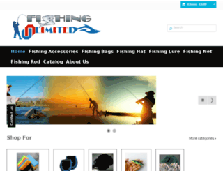 fishing-unlimited.com screenshot
