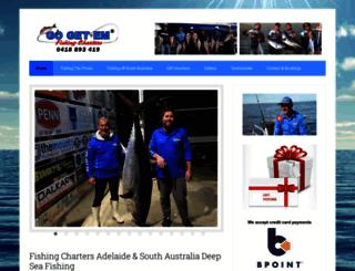 fishingtripsandfishingchartersadelaide.com.au screenshot