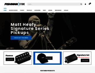fishmanstore.com screenshot