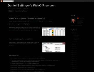 fishofprey.com screenshot