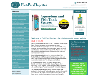 fishpetsreptiles.co.uk screenshot