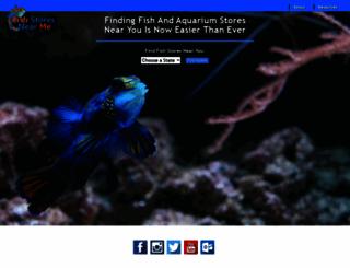 fishstoresnearme.com screenshot