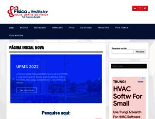 fisicaevestibular.com.br screenshot