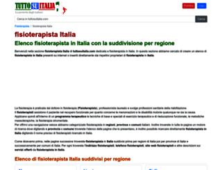 fisioterapista.tuttosuitalia.com screenshot