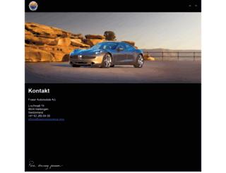 fisker-automobile.com screenshot