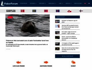 fiskerforum.dk screenshot