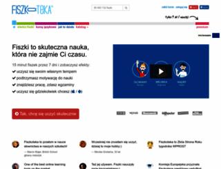 fiszkoteka.pl screenshot