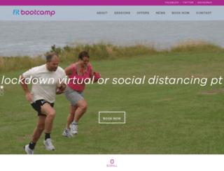fit-bootcamp.com screenshot