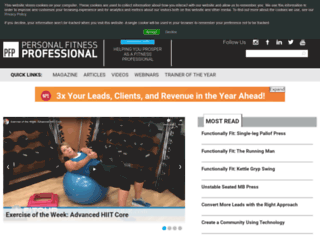 fit-pro.com screenshot