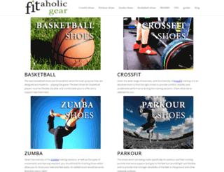 fitaholicgear.com screenshot