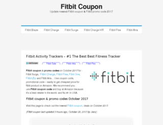 fitbitcoupon.net screenshot