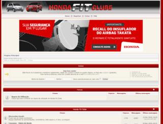 fitclube.com screenshot