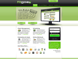 fitgoal.com screenshot