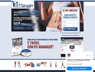 fitmanager.it screenshot