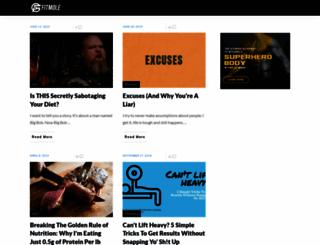 fitmole.org screenshot
