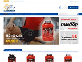 fitnasio.com screenshot