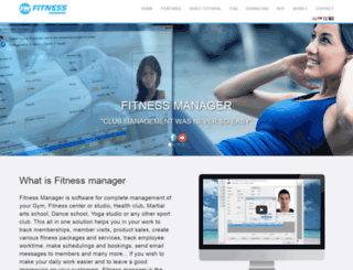 fitness-manager.net screenshot
