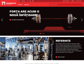 fitness-shop.ro screenshot