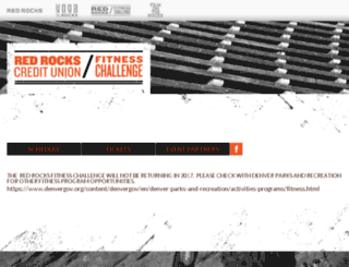fitness.redrocksonline.com screenshot