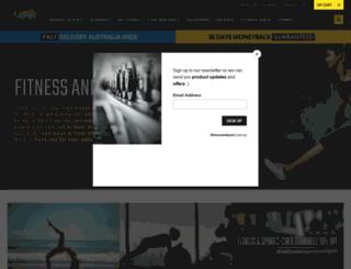 fitnessandsport.com.au screenshot