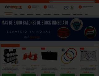 fitnessdirecto.com screenshot