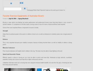 fitnessequipmentblog.worldfitness.com.au screenshot
