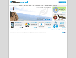 fitnessjournal.com screenshot