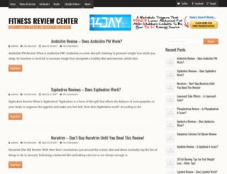 fitnessreviewcenter.com screenshot