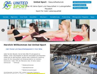 fitnessstudio-ludwigshafen.de screenshot