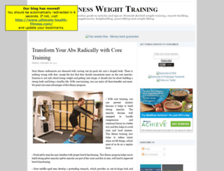 fitnessweighttraining.blogspot.com screenshot