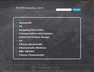 fitnfitness4u.com screenshot