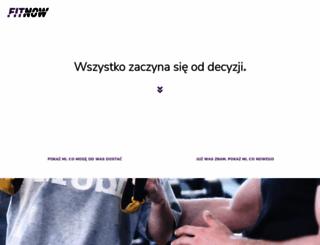 fitnow.pl screenshot