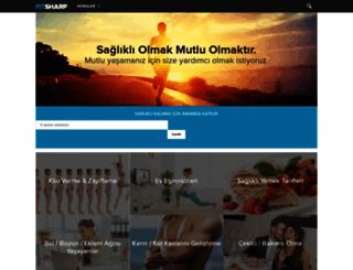 fitsharp.com screenshot