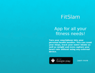 fitslam.com screenshot