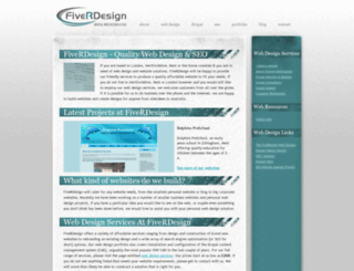 fiverdesign.co.uk screenshot