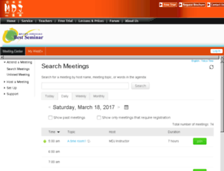 fivestart.webex.com screenshot