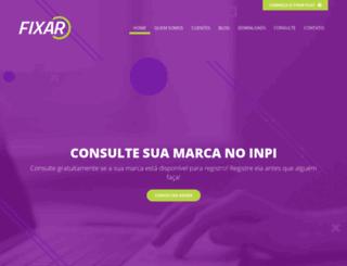 fixarmarcas.com.br screenshot