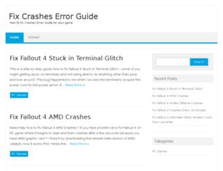fixcrasheserrorguide.com screenshot