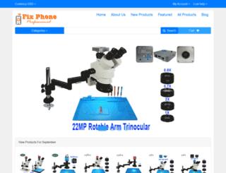 fixphoneshop.com screenshot