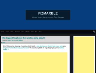 fizmarble.com screenshot