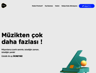 fizy.com screenshot