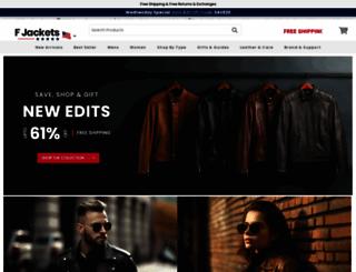 fjackets.com screenshot