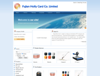 fjhollycard.com screenshot
