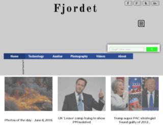 fjordet.com screenshot