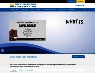 flabarfndn.org screenshot