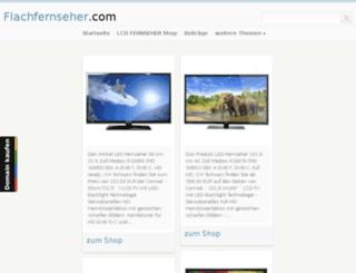 flachfernseher.com screenshot