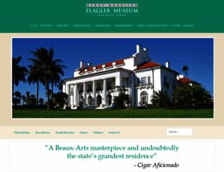 flaglermuseum.us screenshot
