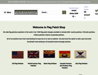flagpatchshop.com screenshot